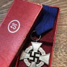 Militaria: MEDALLA NAZI 25 AÑO DE SERVICIO (ENVIÓ GRATIS ). Lote 294497358