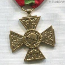 Militaria: FRANCIA. CRUZ DE LOS COMBATIENTES VOLUNTARIOS DE LA GUERRA DE 1939-1945. Lote 295455743