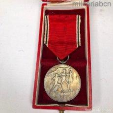 Militaria: ALEMANIA III REICH. MEDALLA DE LA ANEXIÓN DE AUSTRIA. ANSCHLUSS 13 DE MARZO 1938. CON CAJA DE ORIGEN. Lote 296611628