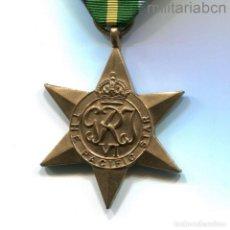 Militaria: REINO UNIDO. THE PACIFIC STAR. MEDALLA DE LA SEGUNDA GUERRA MUNDIAL. Lote 296614263