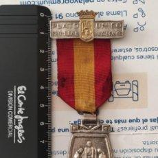 Militaria: MEDALLA PLATO UNICO BURGOS. Lote 296621768