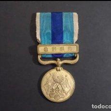 Militaria: MEDALLA ORIGINAL JAPONESA GUERRA RUSO -JAPONESAS 1904-1905. PERIODO MEJI EN BRONCE PERFECTO ESTADO. Lote 296786568