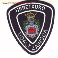 Militaria: PARCHE POLICIA LOCAL. URRETXUCO. Lote 14015075