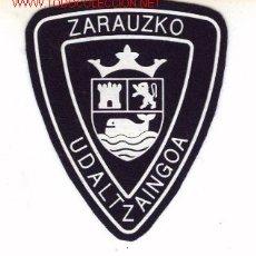 Militaria: PARCHE DE POLICIA MUNICIPAL, ZARAUZKO.. Lote 14015042