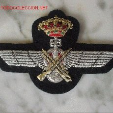 Militaria: EMBLEMA DE AMETRALLAMETRALLADOR-BOMBARDERO(AVIACION) EMBLEM RADOR-BOMBARDERO(AVIACION) REPRODUCCION. Lote 26286632