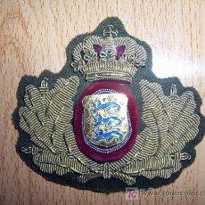 Militaria: EMBLEMA BORDADO DE LAS FUERZAS ARMADAS. DINAMARCA. Lote 26943804