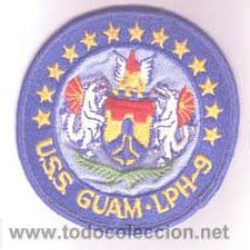 Militaria: PARCHE DE ESTADOS UNIDOS. BUQUE DE LA ARMADA.. USS GUAM. LPH-9. Lote 27213644