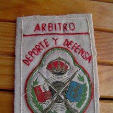 Militaria: PARCHE ARBITRO TIRO NACIONAL .TIRO Y DEFENSA. Lote 26643652
