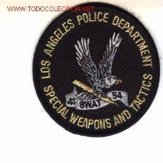Militaria: PARCHE BORDADO DE UNIDAD ESPECIAL DE POLICIA, USA. LOS ANGELES.. Lote 1926750