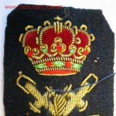 Militaria: GALLETA PARA GORRA DE AMRIAN MERCANTE, BORDADA.. Lote 2235191