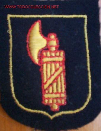 ESCUDO DE BRAZO ITALIANO DE DIVISIÓN SS ITALIA, ORIGINAL, GARANTIZADO. RMAY03.112 (Militar - Parches de tela )