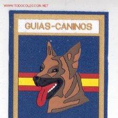 Militaria: PARCHE GUIAS CANINOS DE LA POLICIA NACIONAL 9X7. Lote 135050222