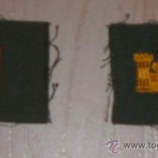 Militaria: DISTINTIVOS DE CUELLO ALFEREZ AMERICANO INGENIEROS VIETNAM. Lote 13933765