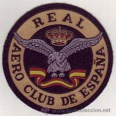 Militaria: REAL AERO CLUB DE ESPAÑA. Lote 27497460