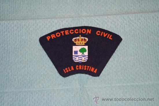 PROTECCION CIVIL DE ISLA CRISTINA (Militar - Parches de tela )