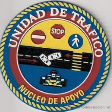 Militaria: PARCHE POLICIA LOCAL ELCHE UNIDAD DE TRAFICO NUCLEO OPERATIVO (ANTIGUO). Lote 207940278