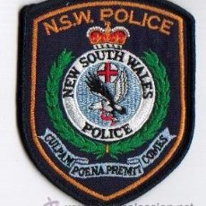 Militaria: PARCHE POLICÍA NEW SOUTH WALES, AUSTRALIA (412). Lote 27358183