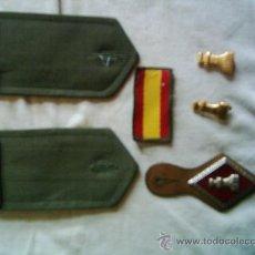 Militaria: LOTE INSIGNIAS SOLDADO DE 1ª DE INGENIEROS. Lote 26925498