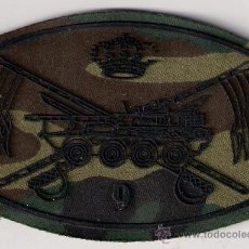 Militaria: PARCHE EMBLEMA ESCUDO EJERCITO MILITAR ESPAÑOL CABALLERIA 9. Lote 26483758