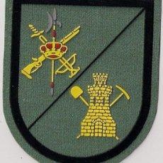 Militaria: PARCHE EMBLEMA ESCUDO EJERCITO MILITAR ESPAÑOL LEGION LEGIONARIO INGENIEROS ZAPADORES AAA. Lote 27487208
