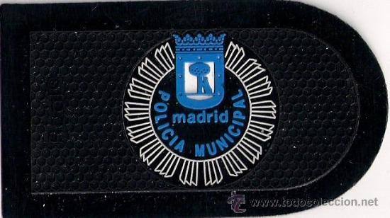 Emblema Escudo Parche Policia Municipal Ayuntamiento De Madrid