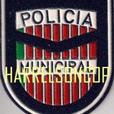 Militaria: PARCHE EMBLEMA ESCUDO POLICIA MUNICIPAL ZAMORA ESPAÑA. Lote 208670018