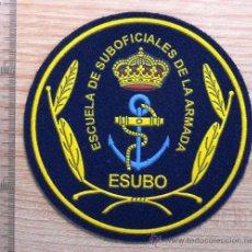 Militaria: ARMADA ESPAÑOLA . PARCHE DE PLASTICO . ESCUELA DE SUBOFICIALES. Lote 22997642