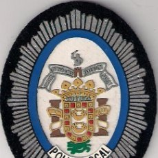 Militaria: PARCHE EMBLEMA ESCUDO POLICIA LOCAL MELILLA MOD ANTIGUO. Lote 27594911
