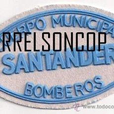 Militaria: PARCHE EMBLEMA ESCUDO SANTANDER CANTABRIA ESPAÑA. Lote 207940756