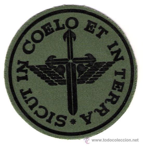 PARCHE EMBLEMA FAMET VERDE (Militar - Parches de tela )