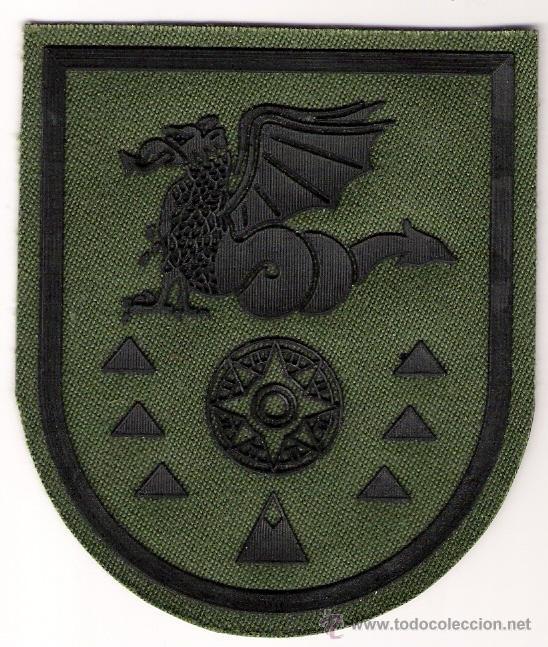 PARCHE EMBLEMA FAMET BHELMA VI VERDE (Militar - Parches de tela )