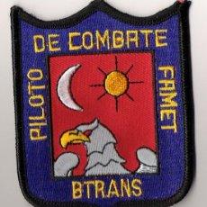 Militaria: PARCHE EMBLEMA PILOTO COMBATE FAMET BTRANS. Lote 25604323