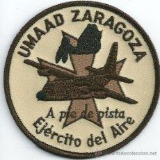 Militaria: ESPAÑA. INSIGNIA DE TELA. EJÉRCITO DEL AIRE. UMAAD ZARAGOZA.. Lote 206960241