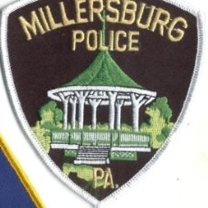 Militaria: EMBLEMA O PARCHE BORDADO, POLICIA AMERICANO, USA, POLICE. Lote 26619128
