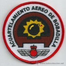 Militaria: ESPAÑA. INSIGNIA DE TELA. EJÉRCITO DEL AIRE. ACUARTELAMIENTO AÉREO DE BOBADILLA.. Lote 207087872