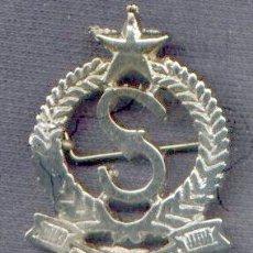Military - India. Insignia de boina de Seguridad Privada. - 28338578