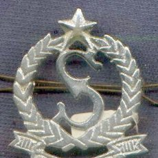 Military - India. Insignia de boina de Seguridad Privada. - 28338580