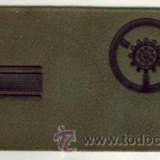 Militaria: DIVISAS IDENTIFICATIVA PARA EL NOMBRE. COLOR VERDE OTAN. CABO 1º. AUTOMOVILES.. Lote 28814104