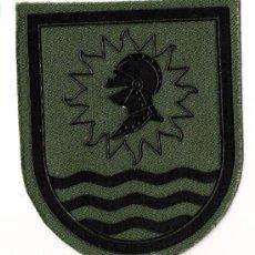 Militaria: PARCHE EMBLEMA AGRUPACION LOGISTICA VERDE. Lote 56093124