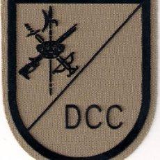 Militaria: PARCHE EMBLEMA ESCUDO EN SARGA MILITAR EJERCITO LEGION LEGIONARIO DCC DEFENSA CONTRA CARROS AAA. Lote 29967657