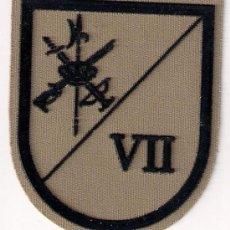 Militaria: PARCHE EMBLEMA EN SARGA MILITAR EJERCITO LEGION LEGIONARIO 7 BANDERA TERCIO JUAN DE AUSTRIA AAA. Lote 29967710