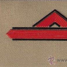 Militaria: PARCHE EMBLEMA EN SARGA MILITAR EJERCITO ESPAÑOL LEGION LEGIONARIO SOLDADO PRIMERO AAA. Lote 29860261