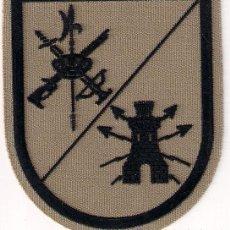 Militaria: PARCHE EMBLEMA EN SARGA MILITAR EJERCITO ESPAÑOL LEGIONARIO LEGION INGENIEROS TRANSMISIONES AAA. Lote 29967762