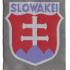 "Militaria: PARCHE, ESCUDO DE BRAZO ALEMAN, LEGIONES EXTRANJERAS, ""SLOWAKEI"", 2ª GUERRA MUNDIAL 1939/45.. Lote 30321599"