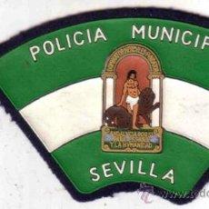 Militaria: PARCHE POLICÍA. POLICIA MUNICIPAL SEVILLA (ESPAÑA). Lote 30949768
