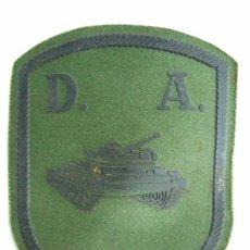 Militaria: PARCHE EMBLEMA DIVISION ACORAZADA - POR DETRAS ES DE PLASTICO - POR DELANTE TELA Y GOMA O PLASTICO. Lote 31368413