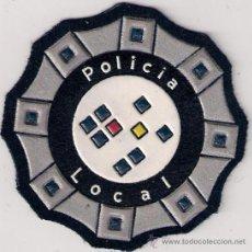 Militaria: OFERTA PARCHE EMBLEMA ESCUDO POLICIA LOCAL MOD 92 GENERICO ESPAÑA. Lote 207891460