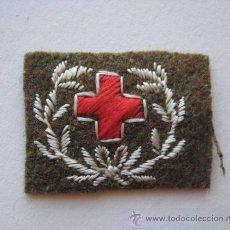 Militaria: EMBLEMA DE CRUZ ROJA BORDADO. ENVIO GRATIS¡¡¡. Lote 33385256