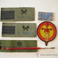 Militaria: CINCO PARCHES DE PECHO VARIADOS. PRINCIPIOS DE LOS AÑOS 80. Lote 33673542