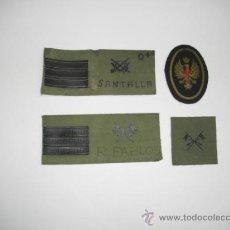 Militaria: PARCHES VARIADOS DE PECHO Y GORRA. Lote 33951784